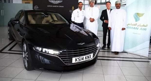 Первые фотографии Aston Martin Lagonda