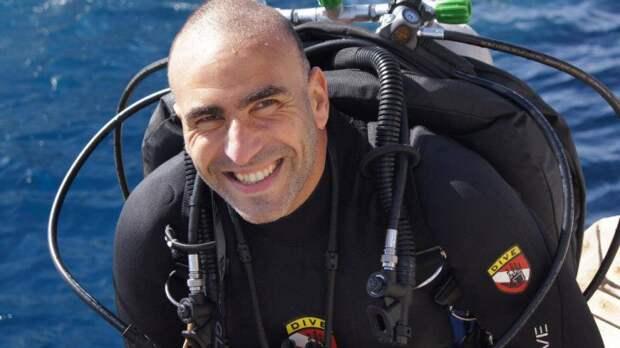 Ахмед Гамал Габр: дайвинг