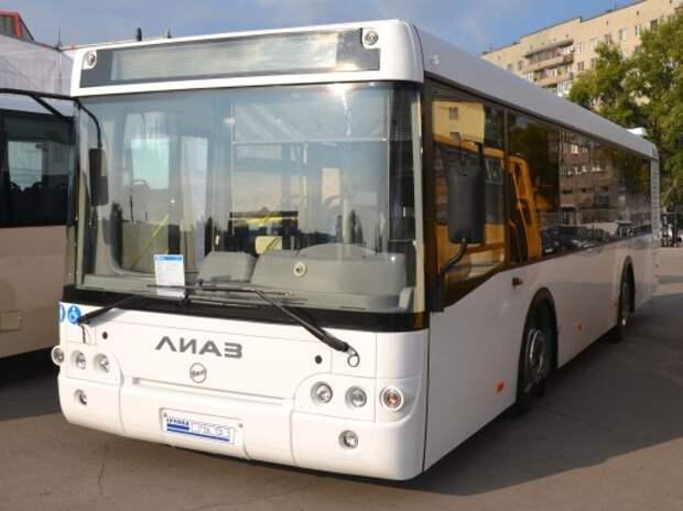 ГАЗ представил новый автобус ЛиАЗ