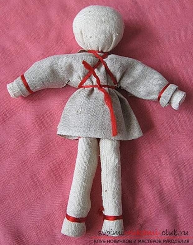 Народная очистительная кукла: Тряпичная кукла-оберег своими руками (мастер-класс)