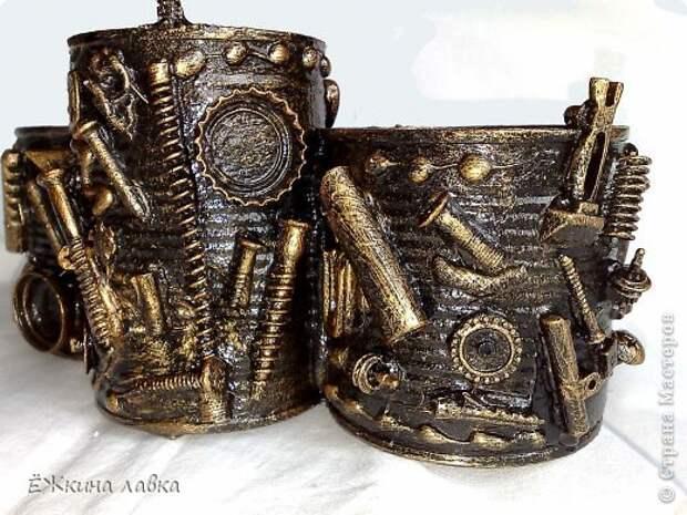 САМОДЕЛКИ. Органайзер из старых консервных банок