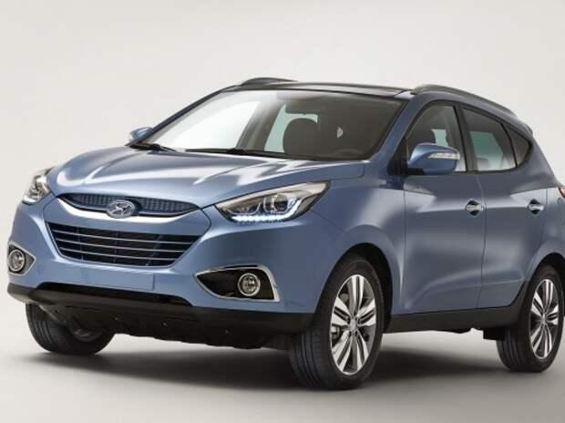 Кроссовер Hyundai ix35 получил новую версию