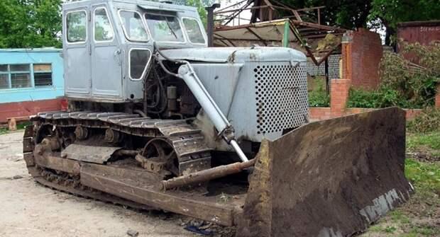 Каток на базе трактора Т-100