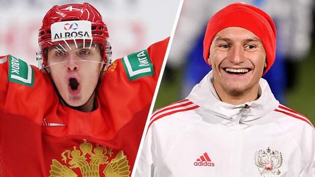 Замула или Чалов? Угадай, хоккеист или футболист молодежной сборной России: тест Sport24