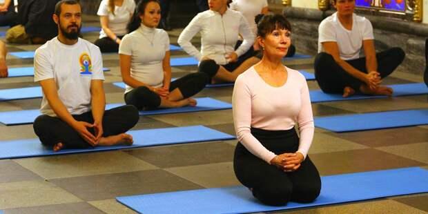 Тренер из Отрадного проведет онлайн-занятие по йоге для пенсионеров
