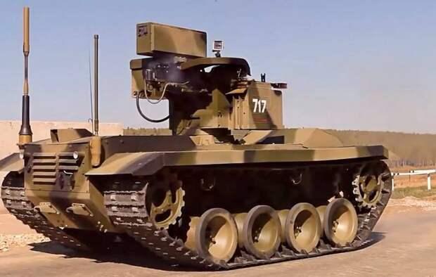 Проект «Нерехта» позволит России создать рой наземных беспилотников