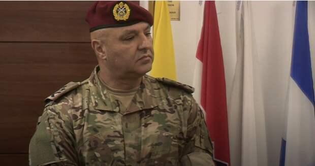 Командующий ВС Ливана предупредил об ухудшении обстановки в стране