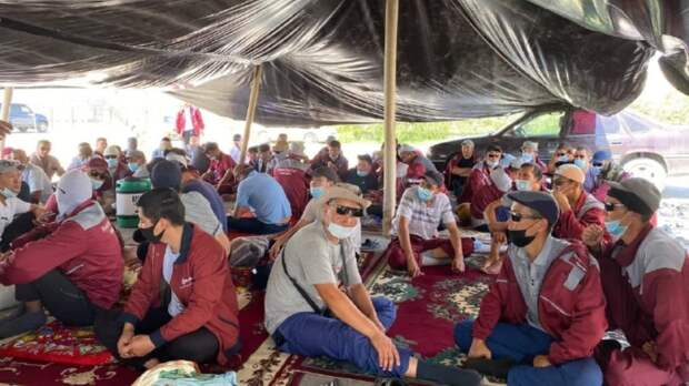 С конца июня в Мангистауской области на западе Казахстана не прекращаются забастовки нефтяников, и...