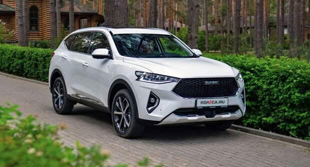 Haval в апреле сохранил лидерство среди китайских автопроизводителей в РФ