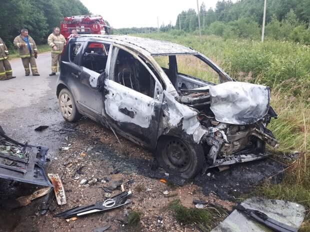 На трассе в Тверской области погиб водитель «ВАЗа»