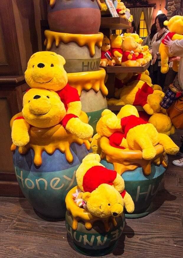 Disney, Gift Shop, Honey, Japan, Pooh, Tokyo