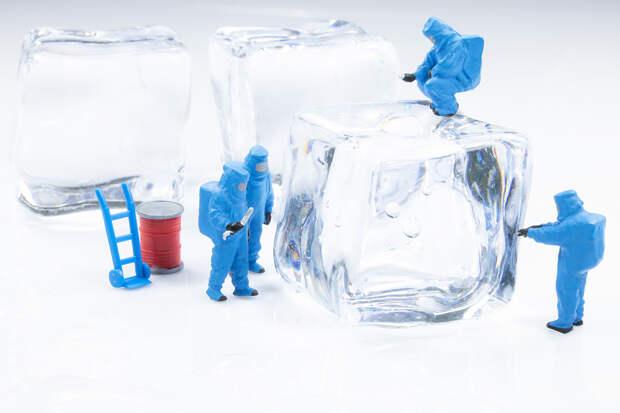 Химики из России, Китая и США открыли новую форму льда