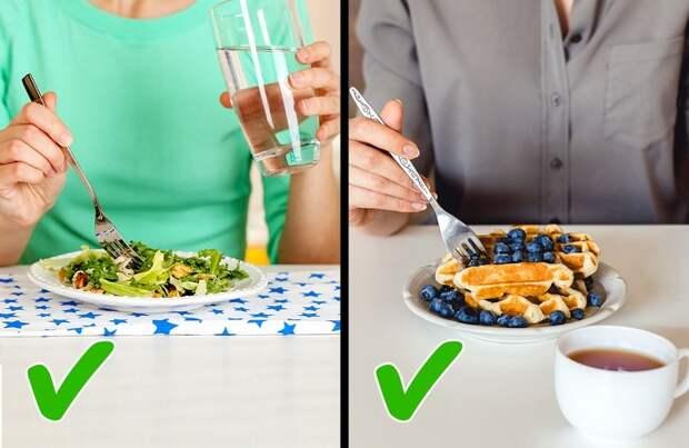 Раз и навсегда: Можно ли пить воду во время еды