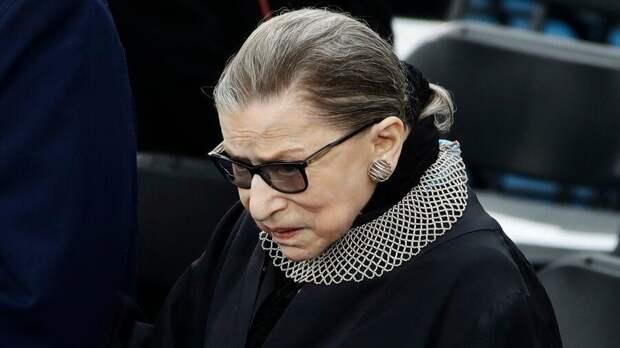 Скончалась старейший член Верховного суда США Гинзбург
