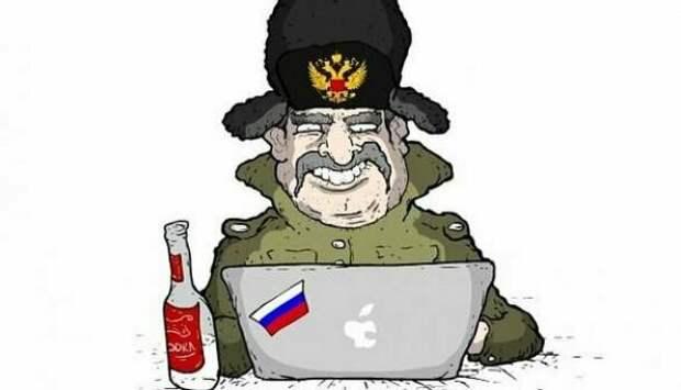 Ответочка за русских хакеров