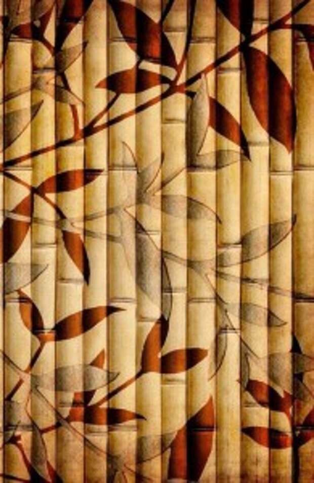 Изготовление обоев из природных материалов