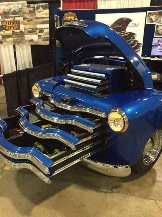 Мужской автомобильный креатив