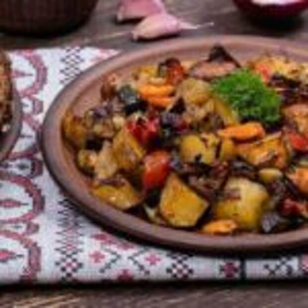 Картофель по-грузински