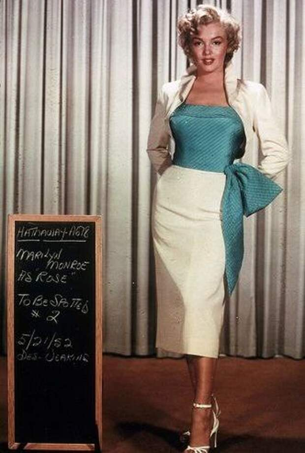 """Кинопробы Мэрилин Монро для фильма """"Ниагара"""" (1953)"""