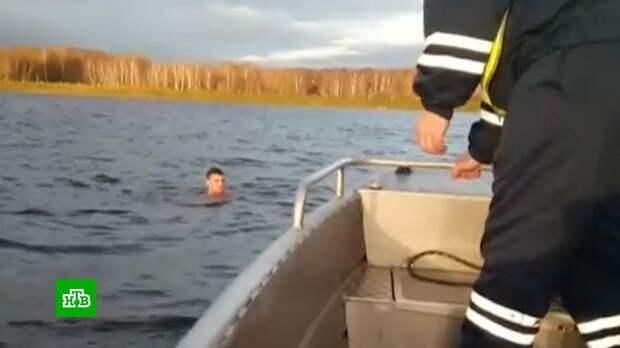 Пьяный водитель в Костроме пытался вплавь уйти от полицейской погони