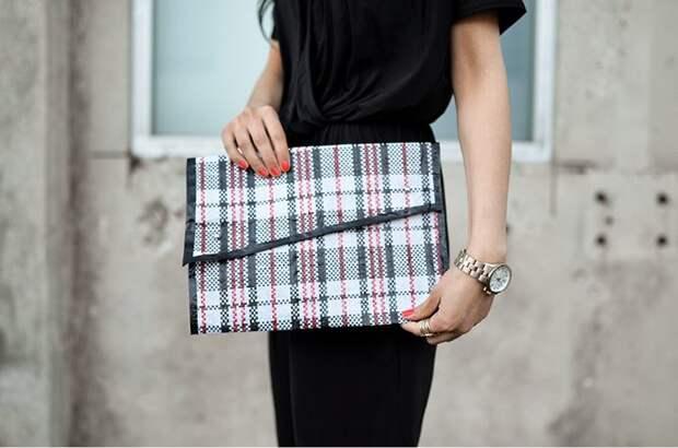 Клатч из челночной сумки (Diy)