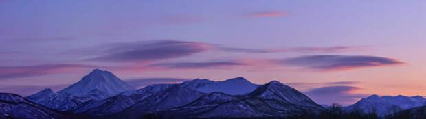Закат над моим домашним вулканом Вилючинский