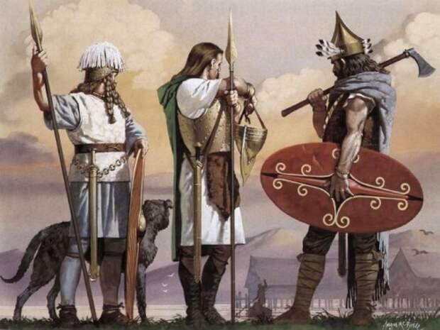 Кельты на берегу озера Ньючатель (первая половина V в. до н.э.)