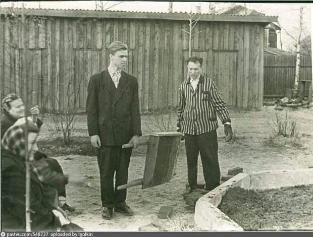 Фото дня: Анадырский проезд в начале 50-х