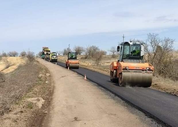 «Служба автомобильных дорог Республики Крым» сообщает о ремонте региональных автодорог