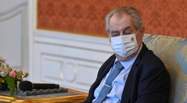 Милош Земан расстроен включением Россией в список недружественных стран Чехии