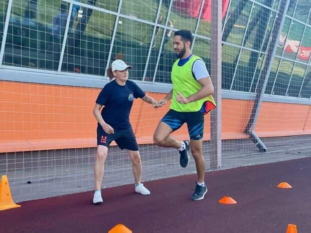 Сборная Бабушкинского приняла участие в эстафете по легкой атлетике