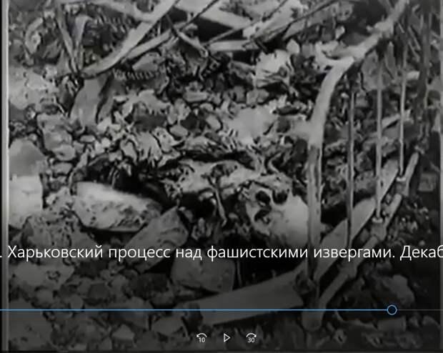 Харьковская Хатынь: раненных сожгли прямо в госпитале.