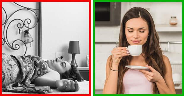 8 ошибок, которые мешают вам встать с кровати зимой