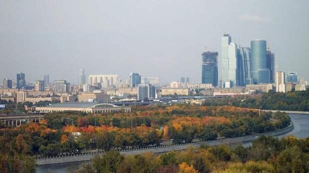 Облачную погоду с небольшим дождем обещают москвичам 27 сентября