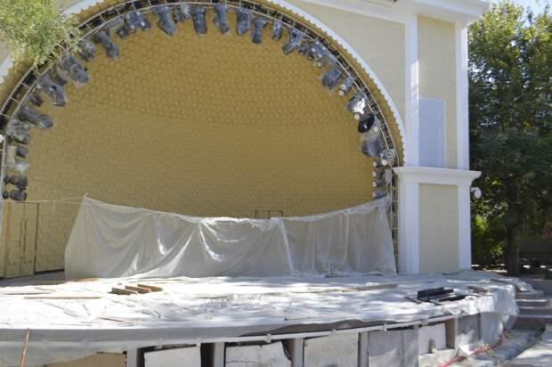 Создание бетонных трибун на многострадальной «Ракушке» приостановлено