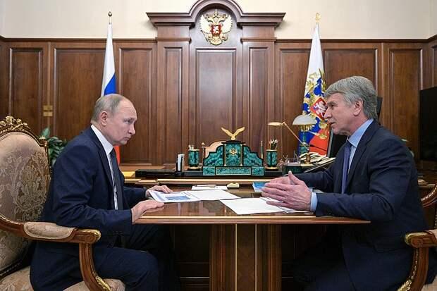 Путин о газовой инфраструктуре на севере России: «Циклопические сооружения»
