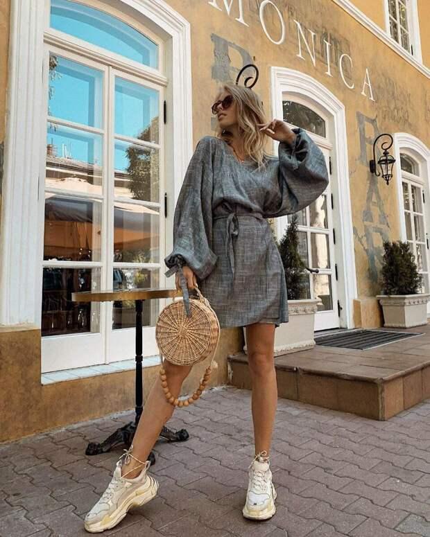 Леди Безупречность. Как носить серое платье, чтобы не выглядеть серой мышкой - 10 фотоидей