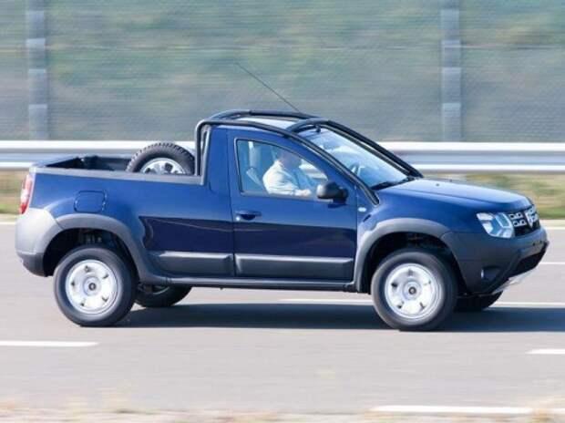 Пикап Renault Duster представлен официально