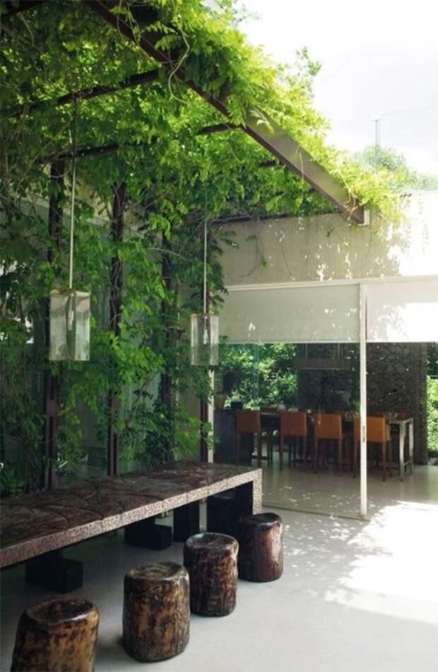 Прекрасные идеи дизайна веранды для вдохновения